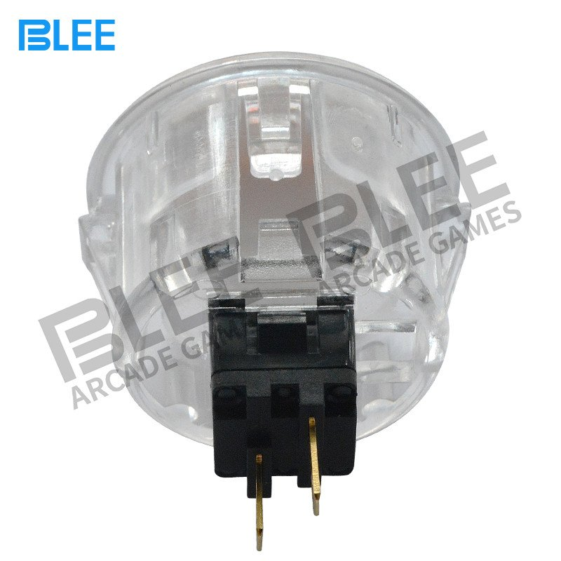BLEE-White arcade push button with microswitch-2
