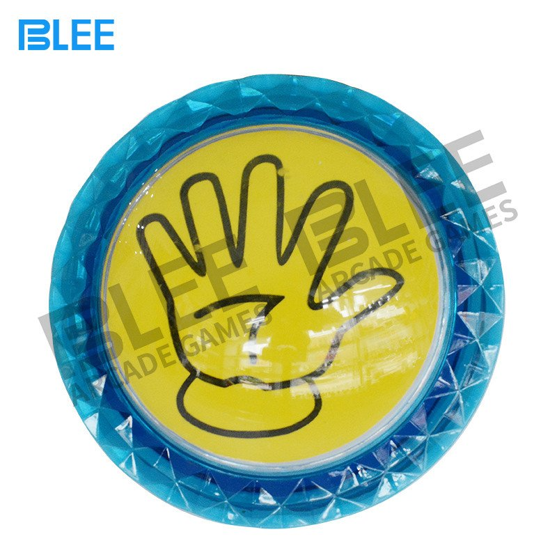 BLEE-Welcome custom pictures or letters arcade game button