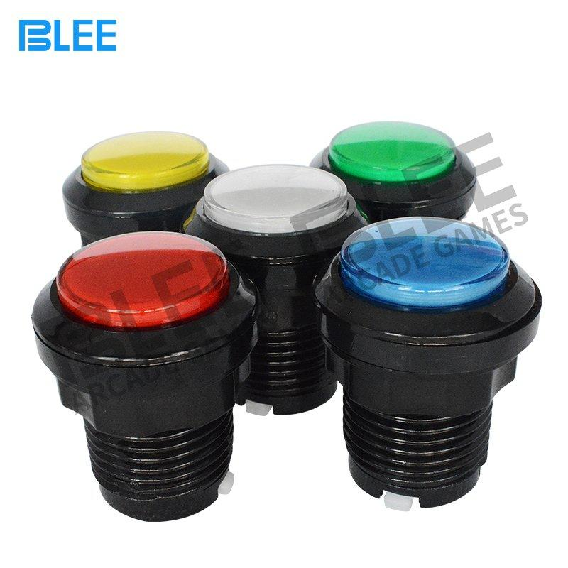 Different colors LED arcade push button
