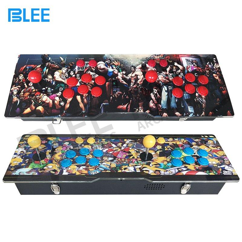 BLEE 2018 newest different artwork design pandora box arcade console 645 / 680 / 815 or more games in one box Pandora Box Arcade image57