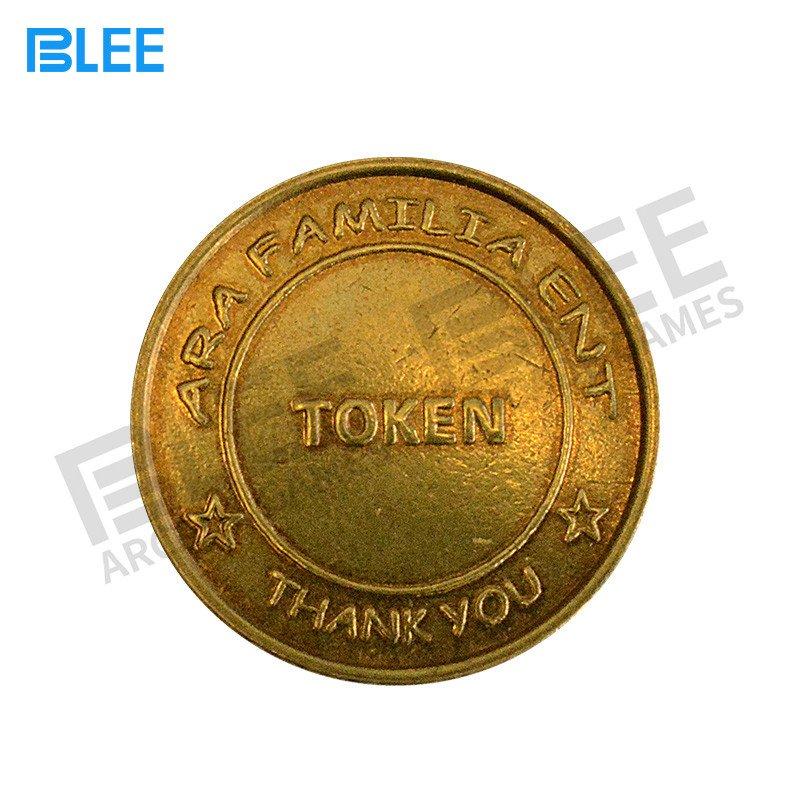 BLEE-Custom Logo Brass Stainless Steel Laundry Token