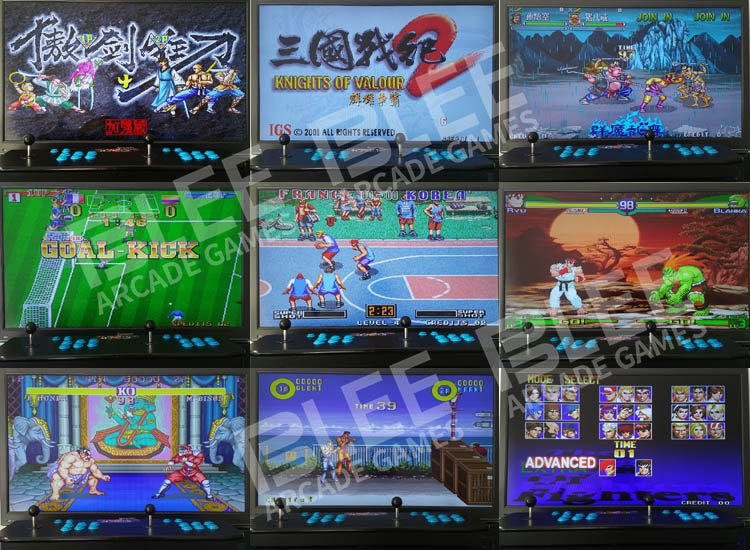 BLEE 2018 Newest 1388 In 1 Pandora Box 6S Retro Video Game Console Pandora Box Arcade image55