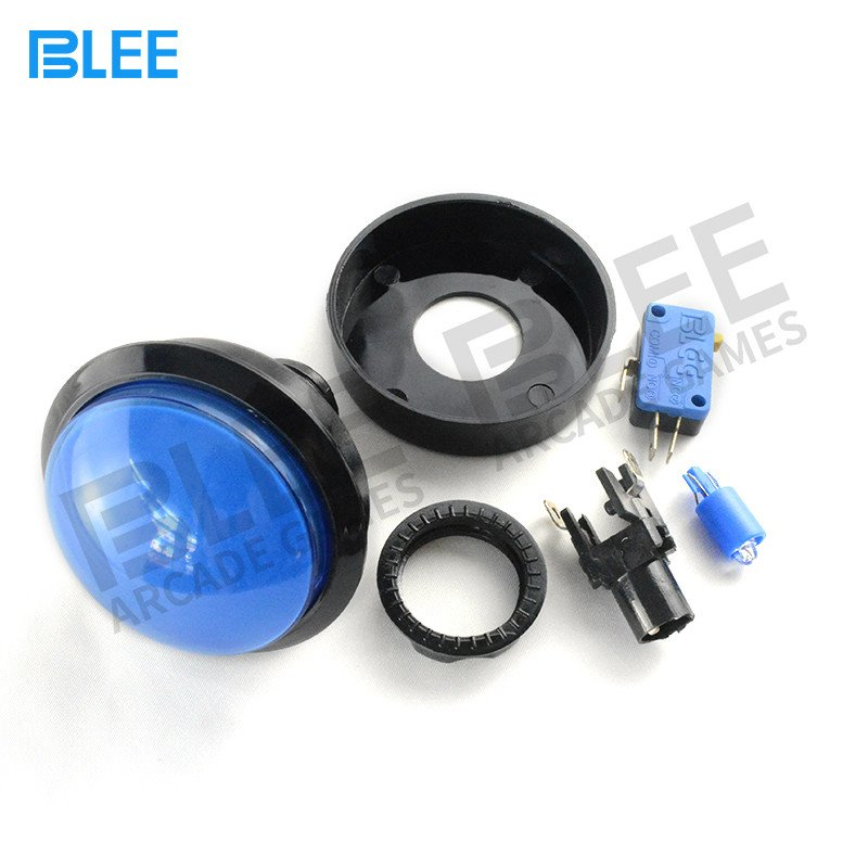 BLEE-Sanwa Clear Buttons | Free Sample Different Colors Arcade Style-2