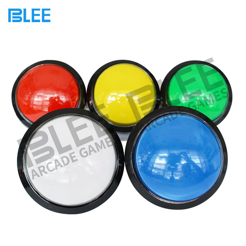 BLEE-Sanwa Clear Buttons | Free Sample Different Colors Arcade Style-3
