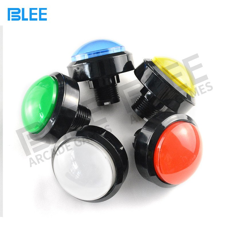 BLEE-Sanwa Clear Buttons | Free Sample Different Colors Arcade Style-4