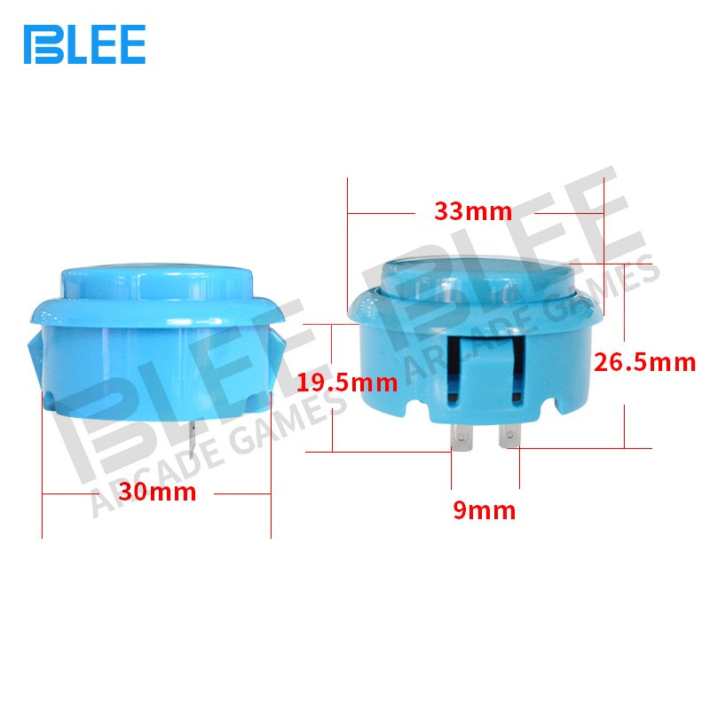 BLEE pi sanwa clear buttons free design for entertainment-4