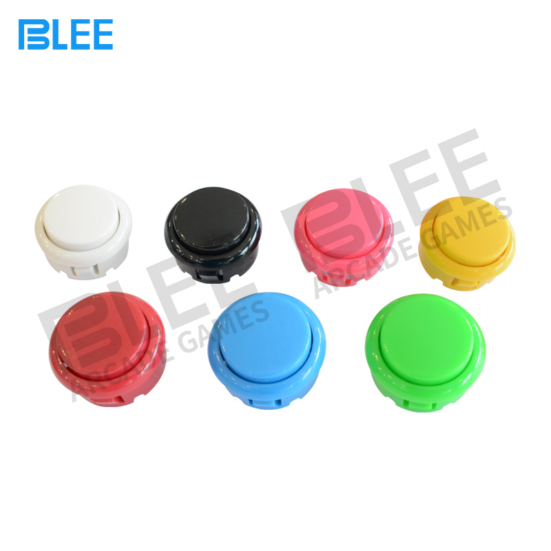 BLEE-Sanwa Clear Buttons, Free Sample Sanwa Style Arcade Buttons