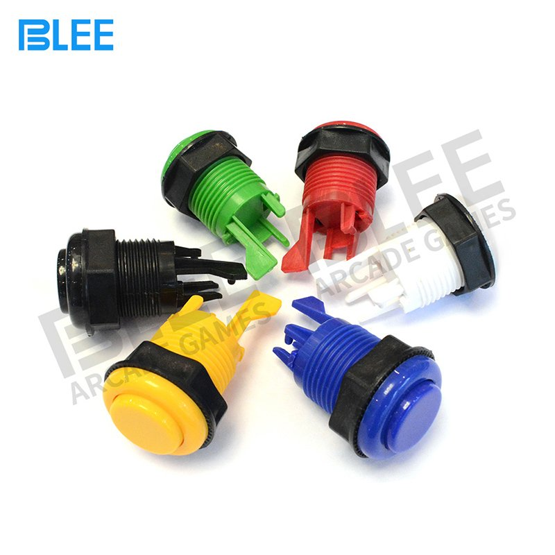 BLEE-60mm Short Standard Concave Arcade Buttons | Led Arcade Buttons