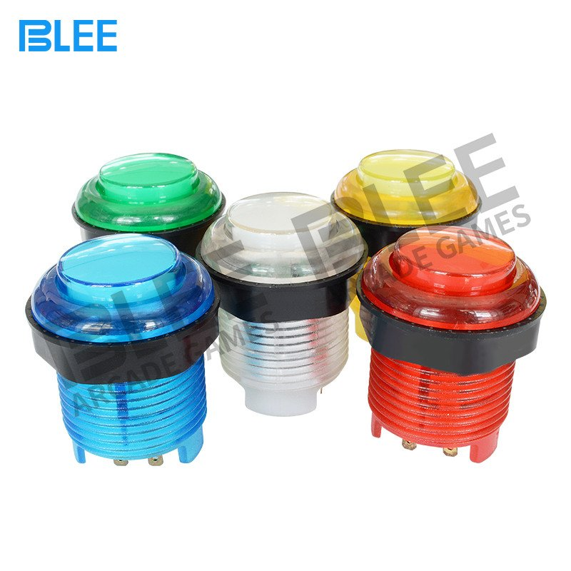 BLEE-Arcade Buttons Kit, 2 Players Led Arcade Cabinet Kit With Usb-1