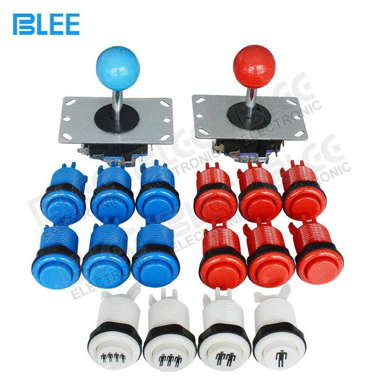 60MM / 64MM Concave Arcade Button Buttons And Joysticks Kit