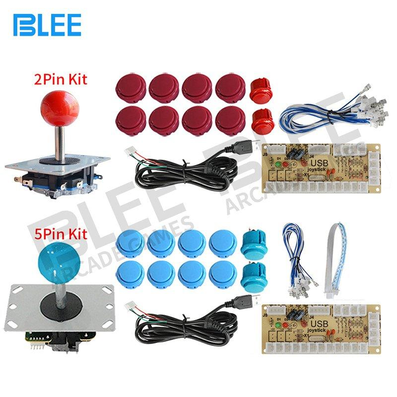 USB Encoder 5 Pin 2 Pin Arcade Joystick Buttons Kit