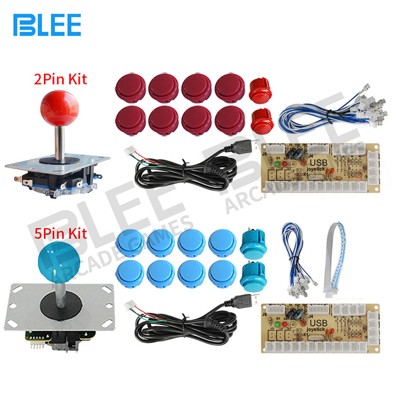 BLEE-Arcade Buttons Kit Mame Control Panel Kit Manufacture
