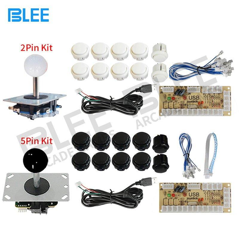USB Encoder Board 2 Pin 5 Pin Arcade Joystick Buttons Kit