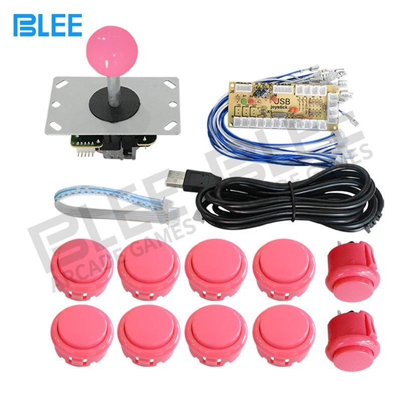 Arcade DIY Kit USB Encoder Joysticks Buttons Cabinet Kit