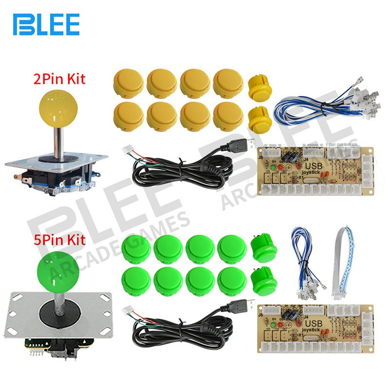 BLEE-Find Mame Cabinet Kit 2 Pin 5 Pin Arcade Usb Encoder