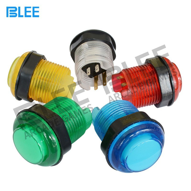 BLEE-Sanwa Joystick And Buttons, Blee 28mm Led Arcade Push Button-3