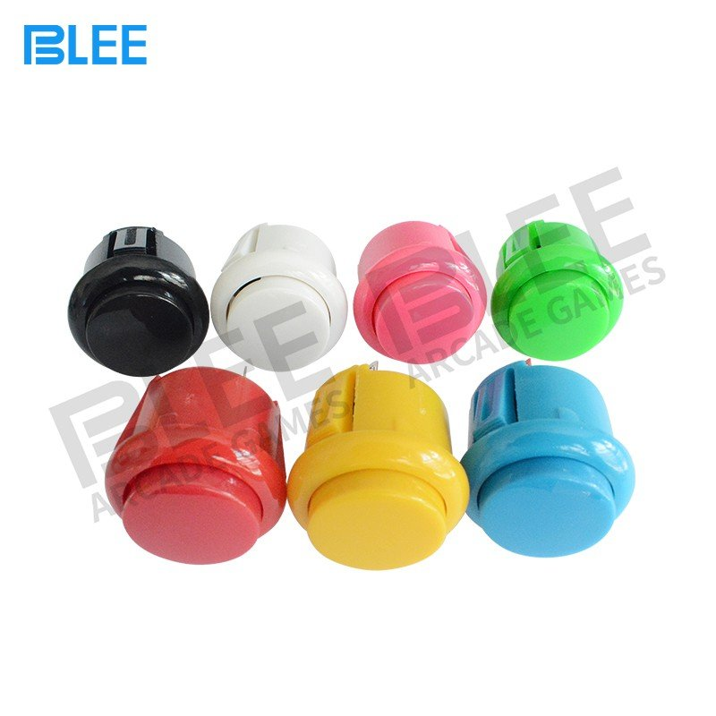 BLEE-Sanwa Joystick And Buttons, Qualified 24mm 30mm Sanwa Arcade