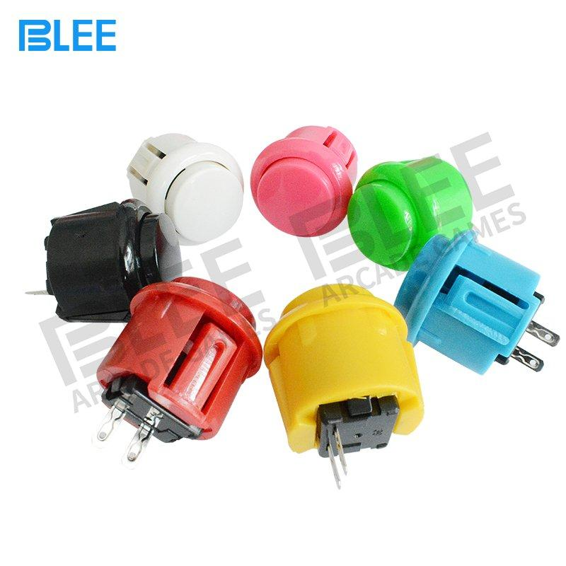 Free Sample Different Colors Sanwa 24mm arcade buttons