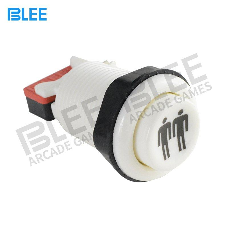 Free Sample 2 Players Metal Concave Arcade Buttons