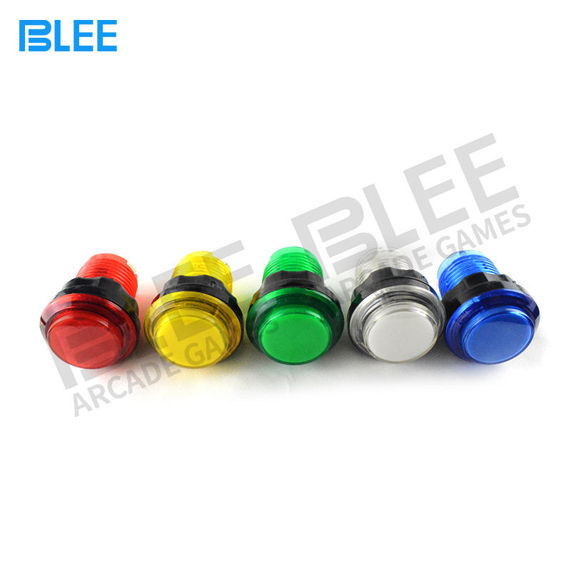 Arcade Manufacturer Cheap Price LED Arcade Button Chrome