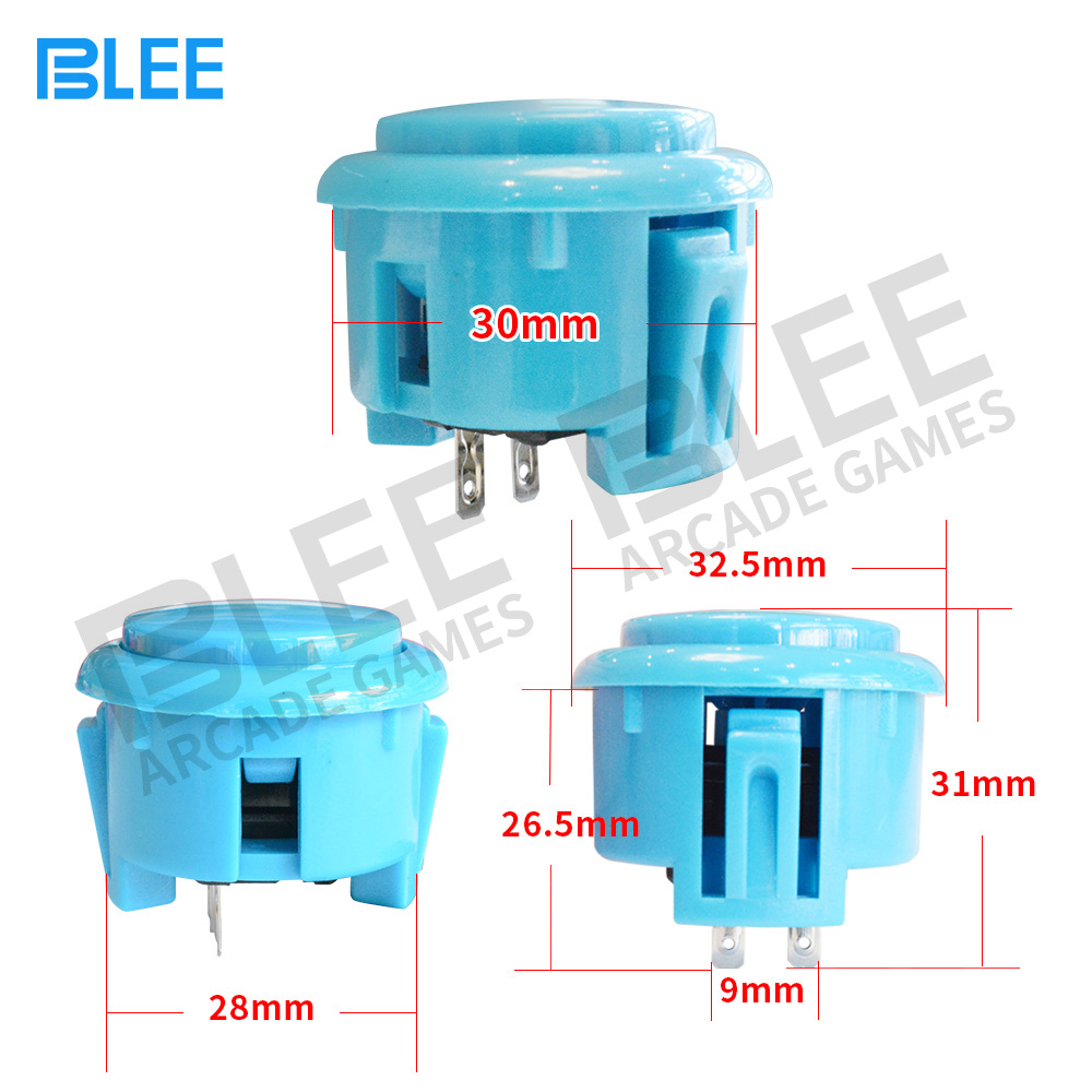 BLEE-Arcade Joystick Buttons Manufacture | Free Sample Different Colors-1