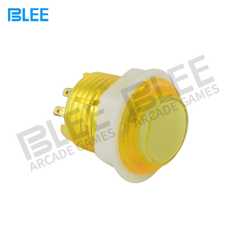 Different Colors 24MM Lighted Arcade Buttons With Free Sample