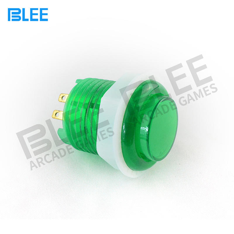 Arcade Manufacturer Cheap Price 24MM Lighted Arcade Buttons