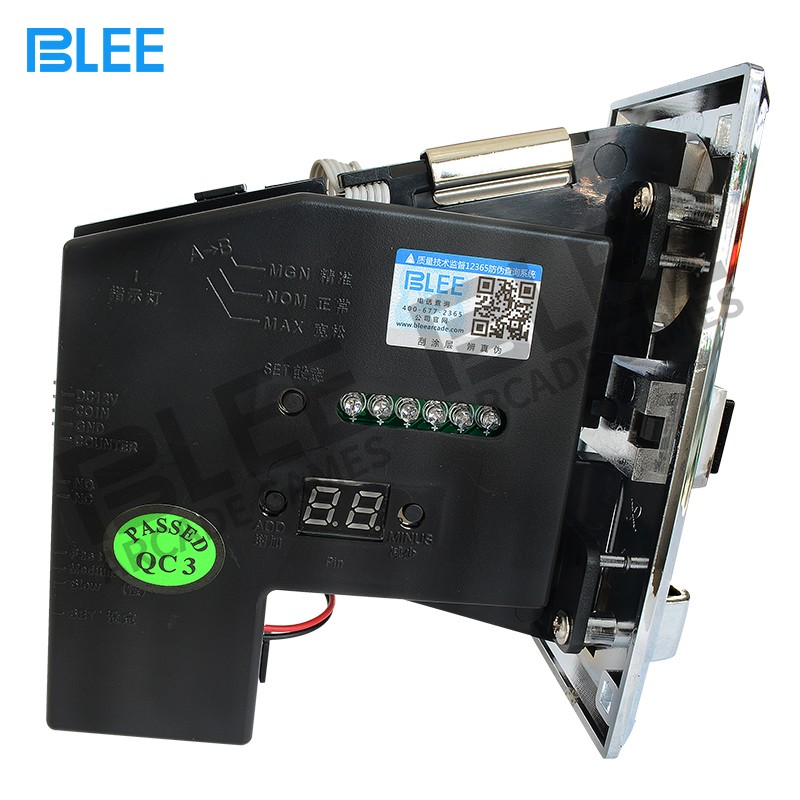 BLEE-Find Coin Acceptor Electronic Coin Acceptor From Blee Arcade Parts-1