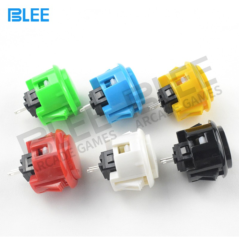 BLEE-Free Sample Different Colors Sanwa Clear Buttons