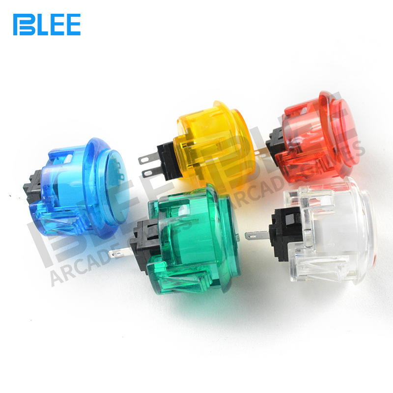 MAME Arcade Factory Low Price Sanwa Standard clear buttons
