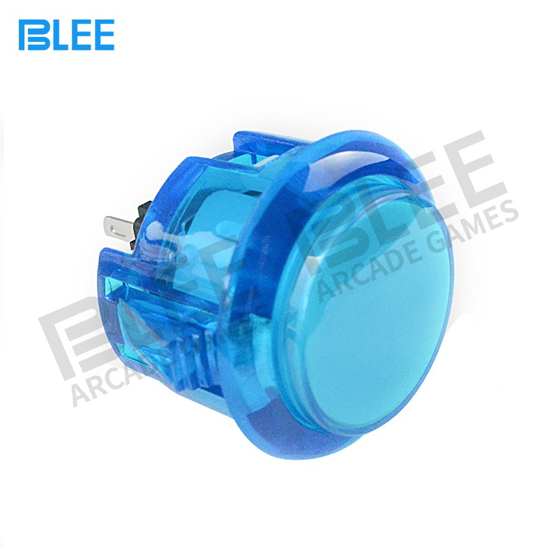 BLEE-Sanwa Standard Clear Led Arcade Buttons Arcade Factory-2