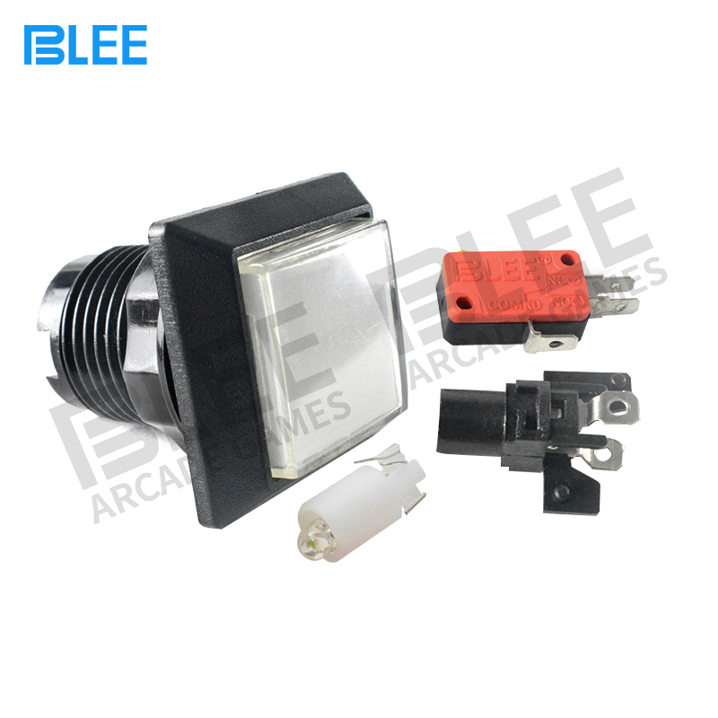 BLEE-Best Led Arcade Buttons Arcade Factory Cheap Price Square Arcade