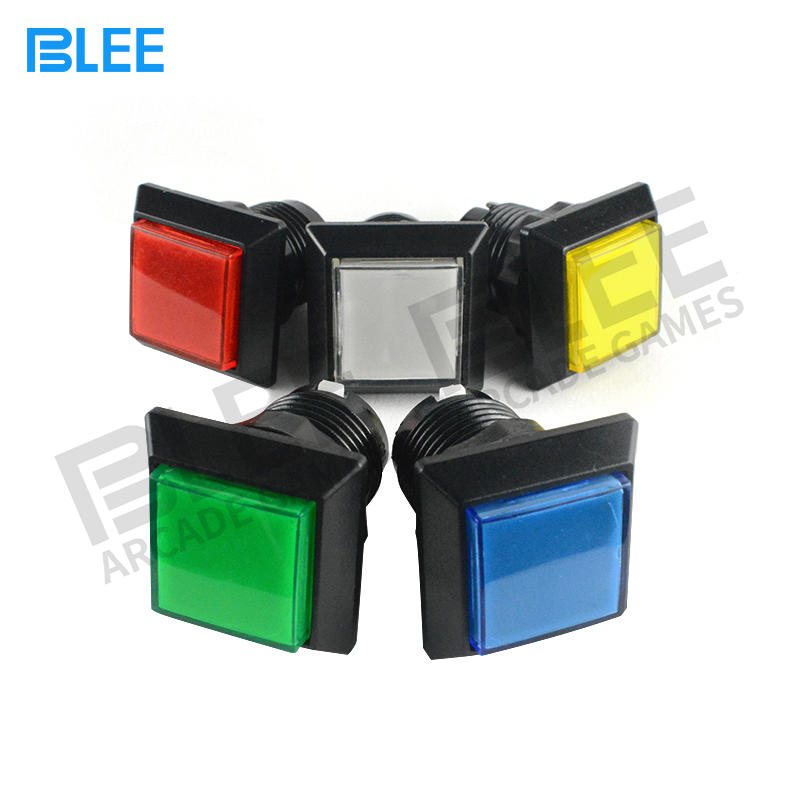 Professional LED Arcade Buttons Arcade Power Buttons