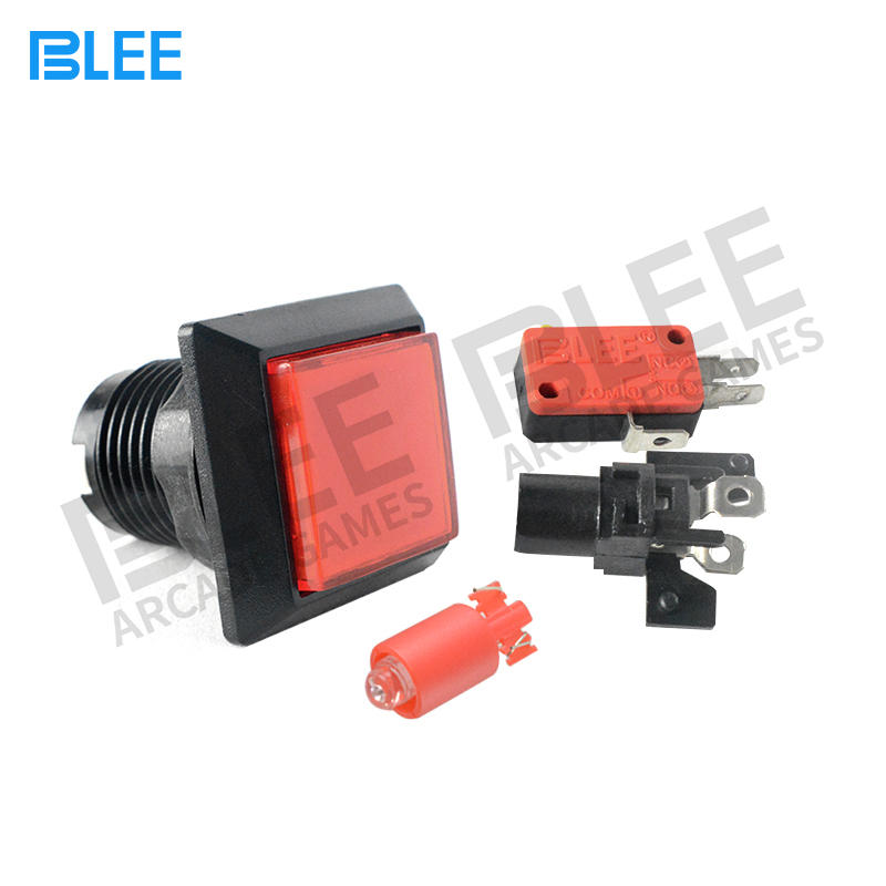 Free Sample Different Colors High Quality Small Arcade Momentary Push Buttons