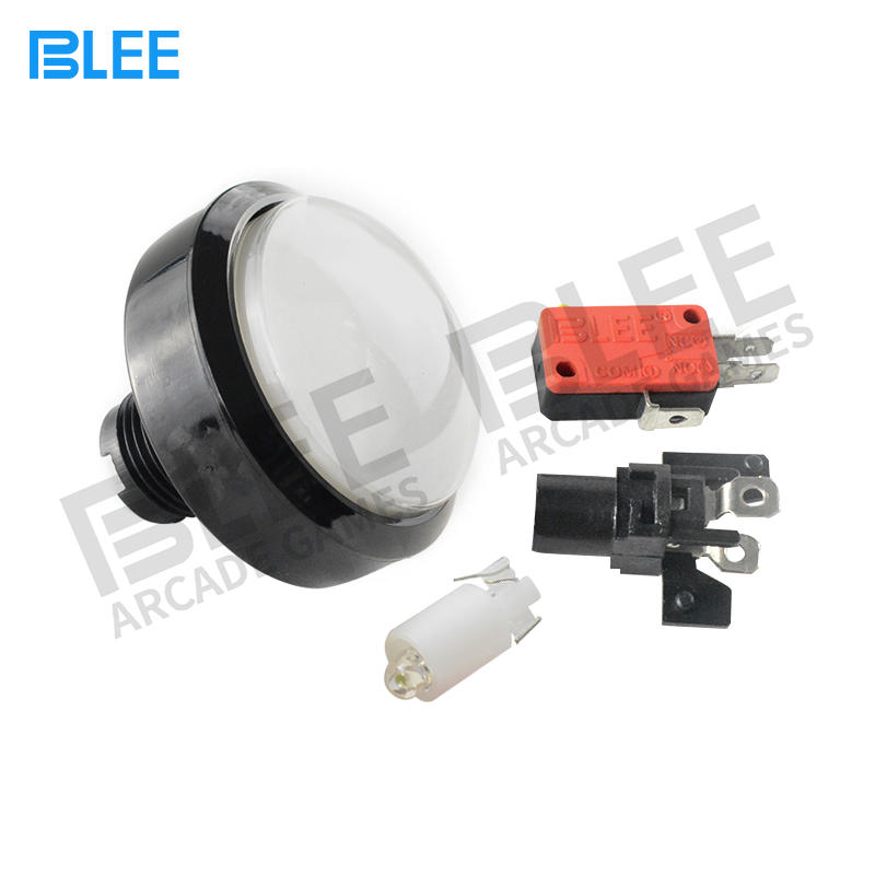 BLEE quality led arcade buttons from manufacturer for free time
