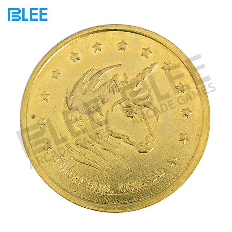BLEE amusement coin token manufacturer wholesale for vending machine