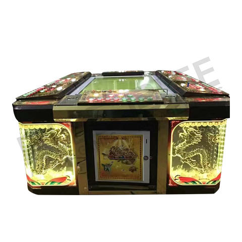 Affordable coin operated fish game machine