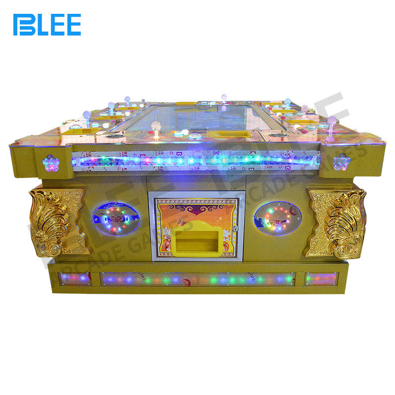 Affordable fish hunter arcade game machine