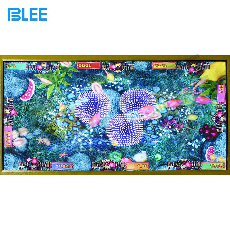 BLEE-Street Fighter Arcade Machine, Affordable Fish Machine Game