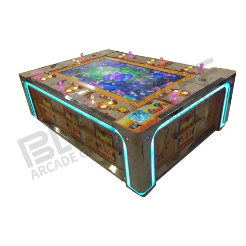 Affordable dragon king fish hunter arcade game machine