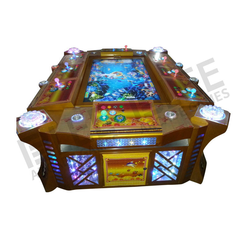 Affordable fishing arcade machine