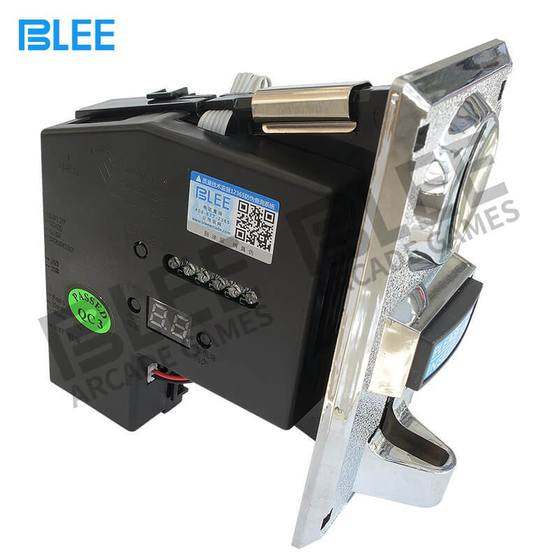 Electronic multi coin acceptor-616