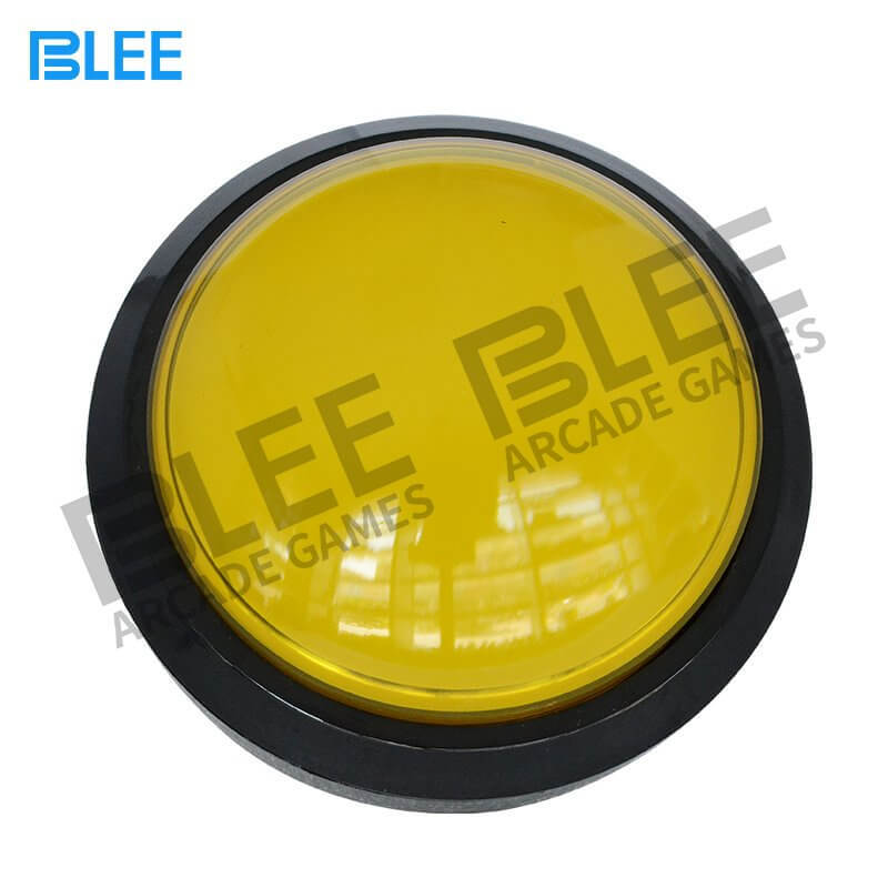 100 mm dome arcade push button with LED
