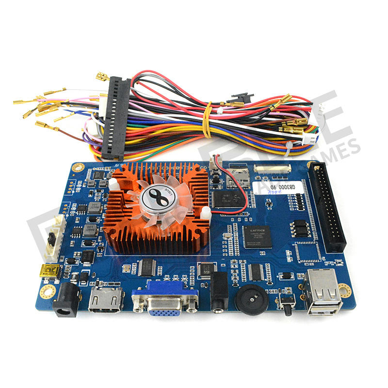 Buy arcade boards arcade game machine motherboard jamma pcb board custom pandora box motherboard 2448 in 1