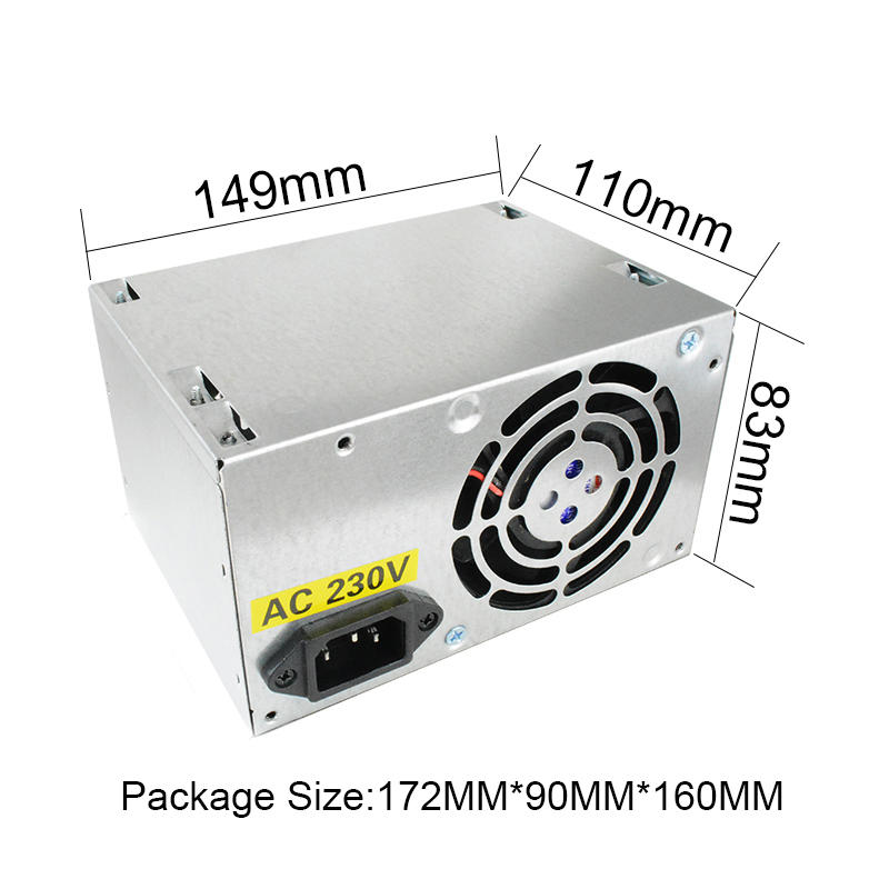 ATX 12V computer/desktop/pc power supply, 230W, PSU, OEM power supply