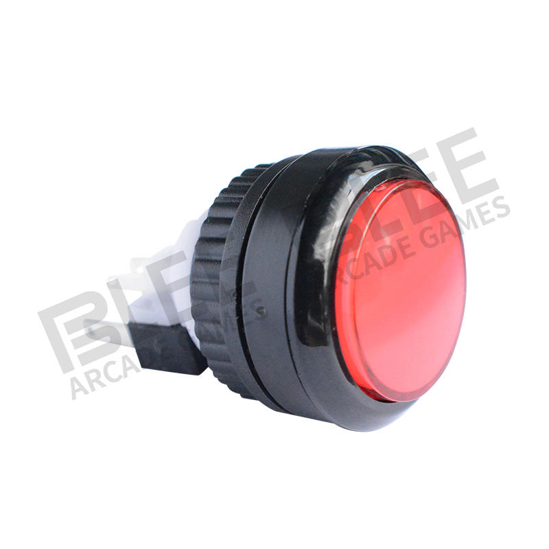 Different types of arcade push buttons switch arcade black button american