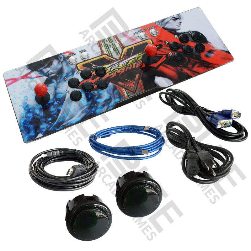 Hot sell pandora box 9s arcade video game console 2448 in 1 video games machine Wifi connection automatic download update game