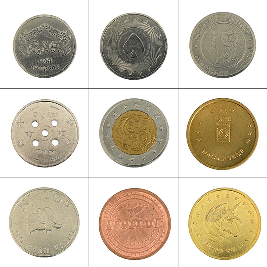 BLEE-Oem Metal Coin Tokens Manufacturer, Arcade Tokens For Sale-1
