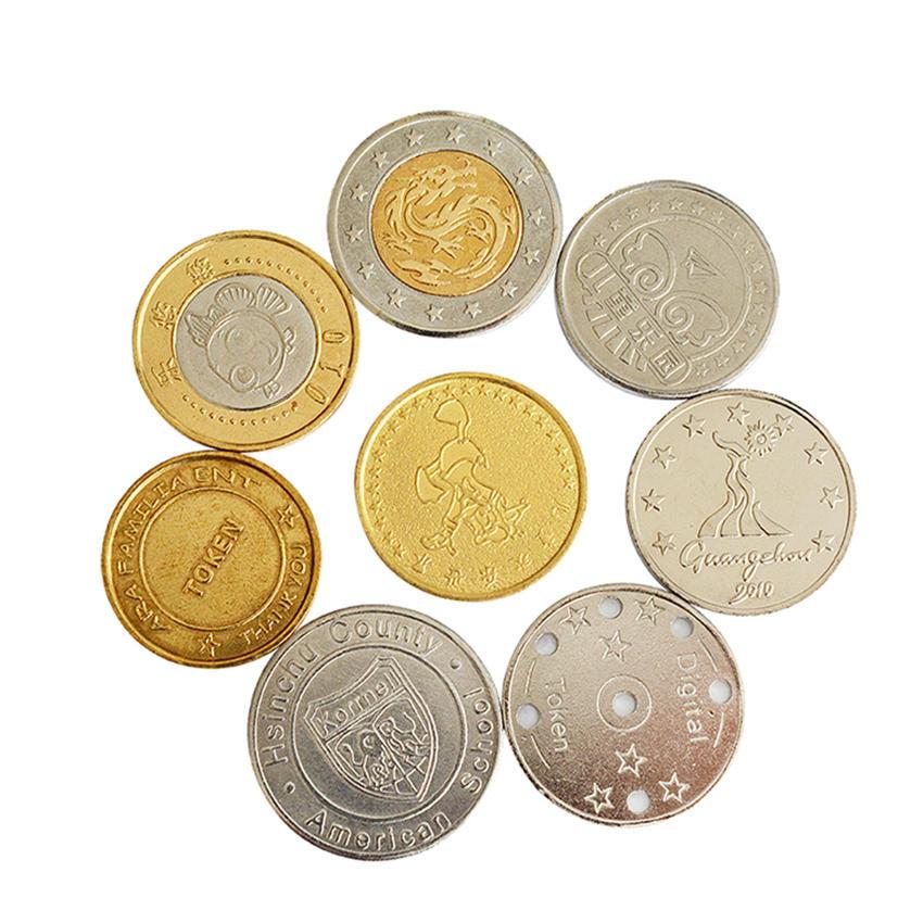 Manufacturer Custom Arcade Game Machine Token Coin,Antique Silver metal coin tokens