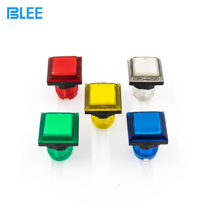 Arcade button set profesional manufacturer illuminated arcade buttons  kit led